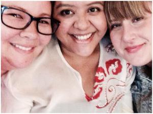 Erika, Syaz & me