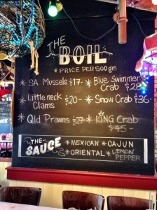 House of Crabs Boil Board