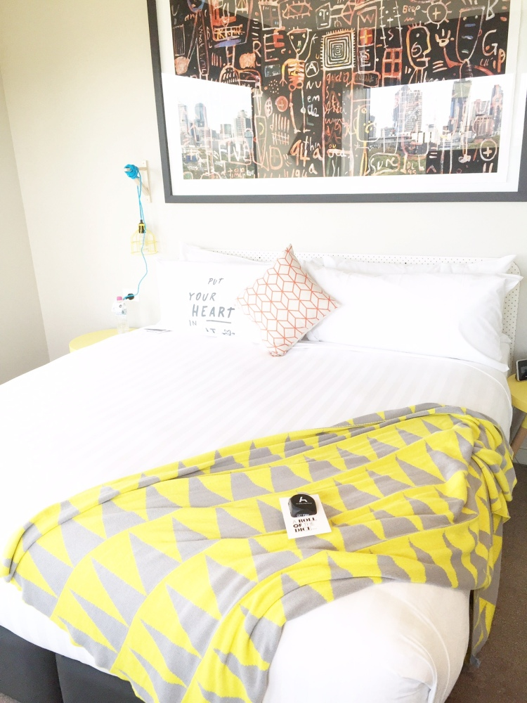 Larwill Luxe; comfy king bed