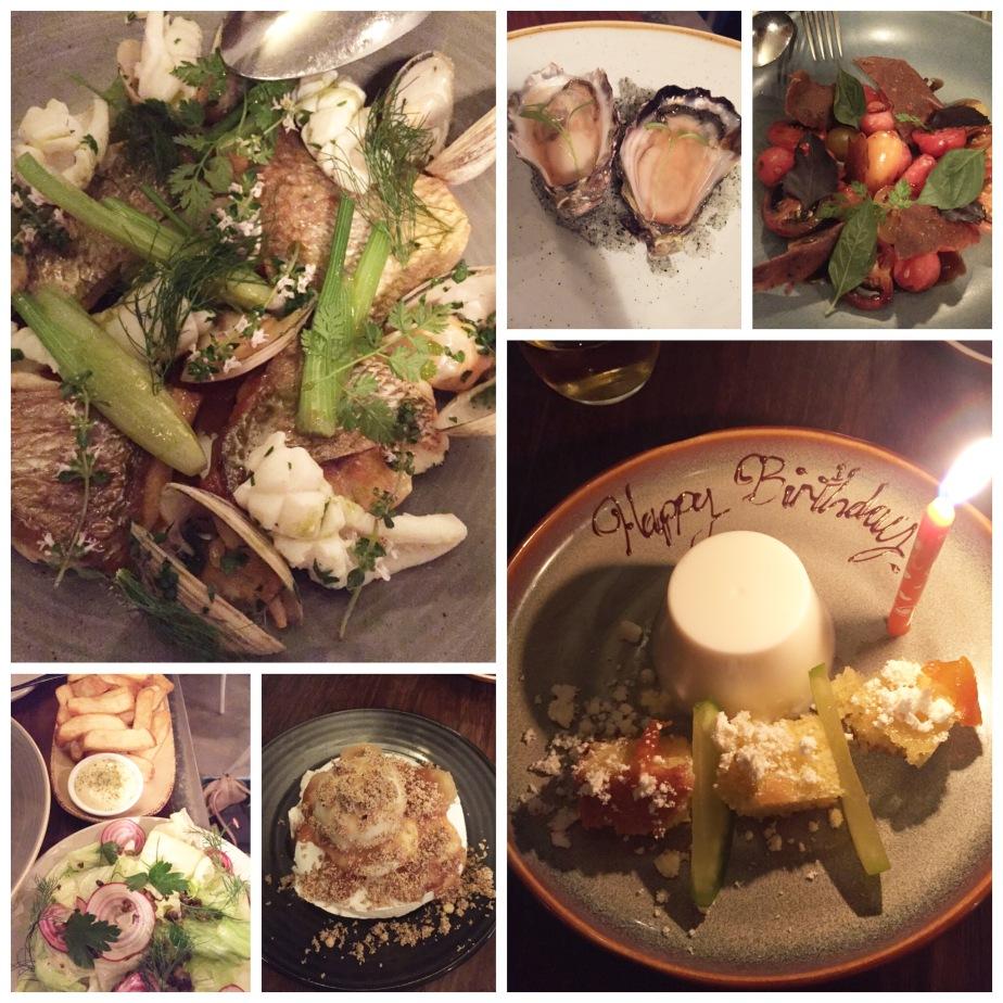birthday dinner @ Chiswick
